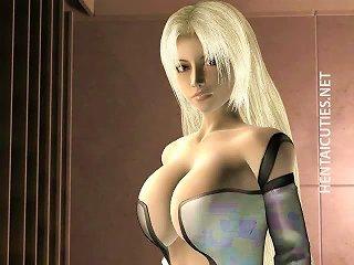 Blondie 3d Hentai Babe Show Tits