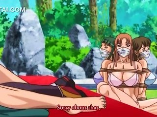 Busty Hentai Girl Tits Fucks And Sucks Dick Outdoor