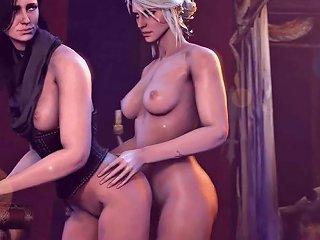 Ciri Does Yennefer Free Ciri Yennefer Hd Porn Video 9d