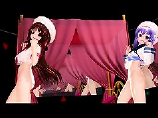 Mmd 2 Delicious Cuties Do More Then Dance Gv00120
