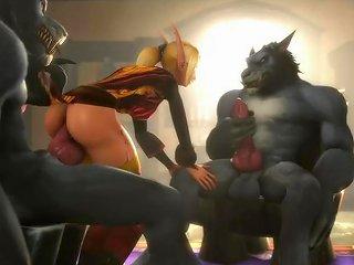 Creature Werewolf Compilation 2