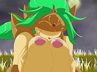 Demon Angel Sakura Vol 4 Golen Queen Death Scene